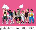 Group of students educated child development 30689923
