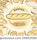 法棍麵包 麵包房 麵包 30692688