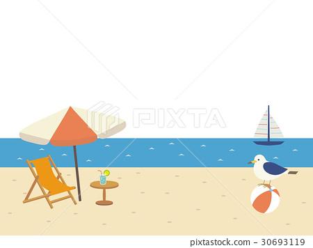 海滩 海洋 海 30693119