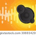 sound, speaker, background 30693420