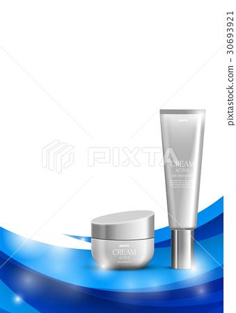 Skin moisturizer cosmetic design template 30693921