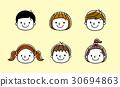 孩子們的臉:微笑 30694863