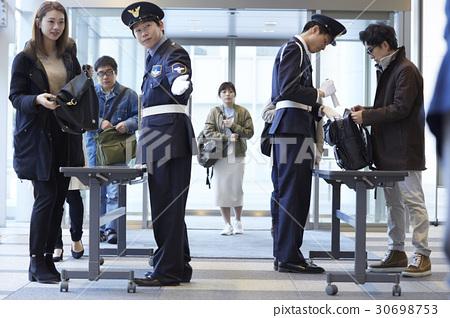 行李 一個入口 門口 30698753