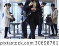 行李 一個入口 門口 30698761