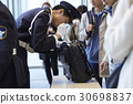 luggage inspection, security guard, guard man 30698837