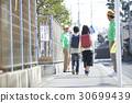 高级志愿者学校道路的安全援助 30699439