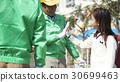 高级志愿者学校道路的安全援助 30699463