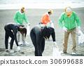 老年人 衝浪者 海灘 30699688