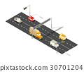 City boulevard isometric 30701204