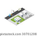 City boulevard isometric 30701208