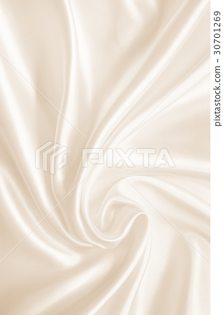 Smooth elegant golden silk or satin luxury cloth 30701269
