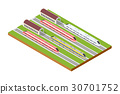 Illustration isometric high-speed 30701752