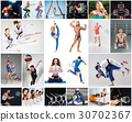 Collage about different kind of sports 30702367