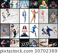 Collage about different kind of sports 30702369