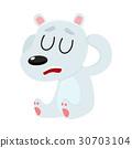 bear, headache, vector 30703104