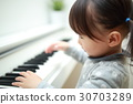 피아노 악기 음악 (오르간 하프시 코드 하프시 코드 MIDI 신디사이저 건반 식물) 30703289