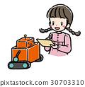 STEM_機器人_女孩_私人服裝 30703310