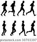 runner, set, vector 30703397