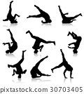 dance, silhouette, dancer 30703405