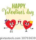 valentine, day, heart 30703639