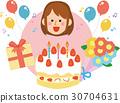 생일, 축하, 축하하다 30704631