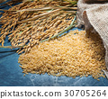 Natural brown rice uncooked 30705264