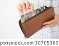 돈과 지갑 30705363