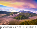 Mount Bromo volcano at East Java, Indonesia 30708411