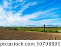ท้องทุ่ง,ฤดูใบไม้ร่วง,เมฆ 30708895