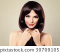 Beauty Fashion Portrait of Pretty Woman 30709105