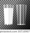 empty, glass, milk 30710907