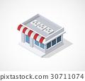 3d shop icon 30711074
