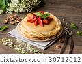 煎餅 糖漿 草莓 30712012