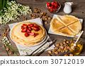 美味 水果 煎餅 30712019