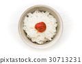 umeboshi on rice 30713231