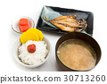 japanese traditional breakfast 30713260