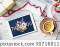 Thank You Appreciation Greatful Happy 30716911