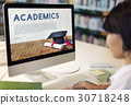Academics School Education Mortar Board Concept 30718248