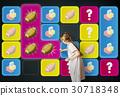 Ball Bricks Rugby Secret Question Matching 30718348