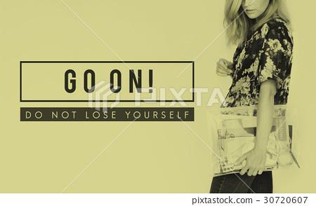 Positivity Encouragement Optimism Concept Word 30720607