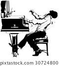 Jazz pianist 30724800