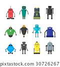 cartoon, cute, robot 30726267