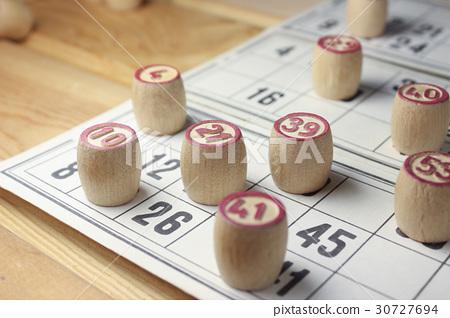 The game of bingo. 30727694