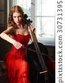 cello, female, play 30731395