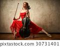 cello, female, play 30731401