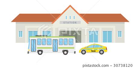 station, train station, station building 30738120