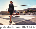 Elegant business woman 30743432