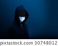 冠鴉 黑客 罪犯 30748012