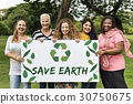 Organic Environment Save Earth Icon 30750675