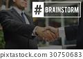 brainstorm business people 30750683